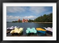 Framed Lithuania, Trakai Historical NP, Lake Galve