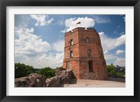 Framed Lithuania, Vilnius, Gediminas Hill, Gedimino Fort