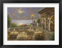 Framed Romantic Dining Invitation