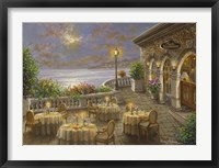 Framed Romantic Dining Invitation