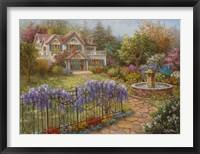 Framed Springtime Hideaway