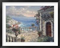 Framed Mediterranean Elegance