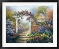 Framed Rose Arbor