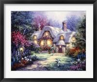 Framed Garden Cottage