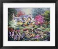 Framed Cottage Pond