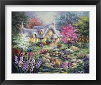 Framed Cottage Pond