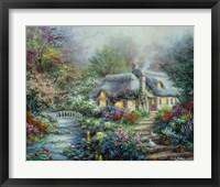 Framed Little River Cottage