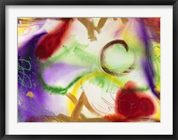 Wind Chimes IV Framed Print