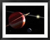 Framed Jupiter-mass planet orbiting the nearby star Epsilon Eridani