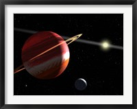 Framed Jupiter-mass planet orbiting the nearby star Epsilon Eridani
