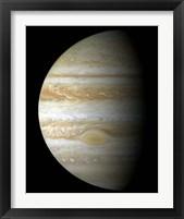 Framed Jupiter Mosaic