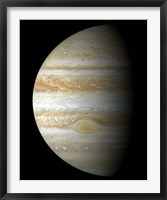 Framed Jupiter Mosaic