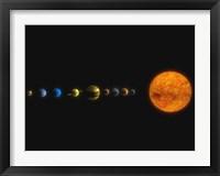 Framed Solar System I