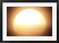 Framed Venus Transiting in front of the Sun I