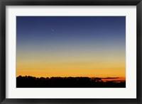 Framed Comet Panstarrs I