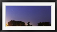 Framed Wide Panorama of Comet Panstarrs, Mercedes, Argentina
