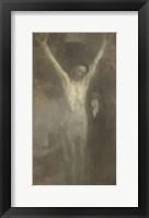 Framed Christ On The Cross, 1897