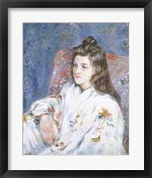 Framed Portrait Of the Artist's Daughter
