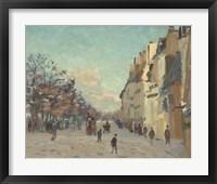 Framed Quai De La Gare, 1880