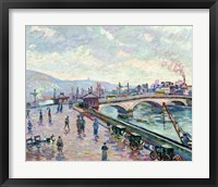 Framed Seine-River At Rouen
