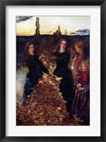 Framed Autumn Leaves, 1856