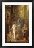 Framed Salome Dancing Before Herod