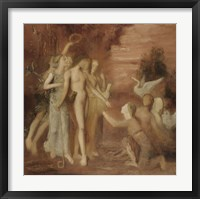 Framed Hesiod And The Muses