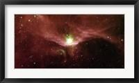 Framed Sharpless 140 in the Constellation Cepheus
