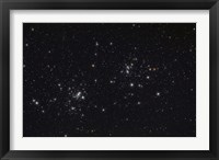 Framed Double Cluster in the Constellation Perseus