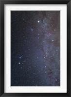 Framed Constellations of Gemini and Auriga