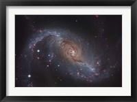 Framed Barred spiral galaxy NGC 1672 in the Constellation Dorado