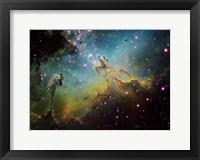 Framed M16 the Eagle Nebula