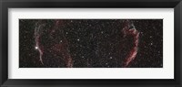 Framed Veil Nebula Mosaic