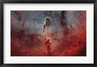 Framed Elephant Trunk Nebula I