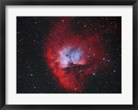 Framed NGC 281, the Pacman Nebula II