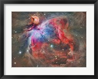 Framed Orion Nebula IV