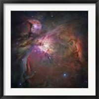 Framed Orion Nebula II