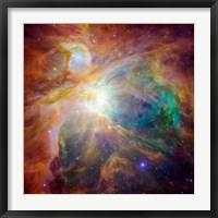 Framed Orion Nebula III