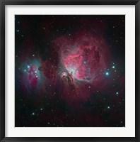 Framed Messier 42, the Orion Nebula I