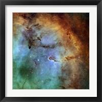 Framed Elephant Trunk Nebula III