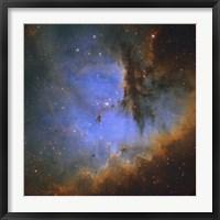 Framed Pacman Nebula