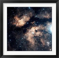Framed Butterfly Nebula