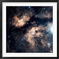 Framed Butterfly Nebula