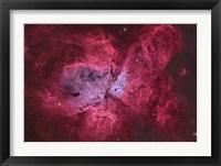 Framed NGC 3372, The Eta Carinae Nebula III