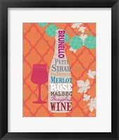 Framed Summer Wine Celebration I
