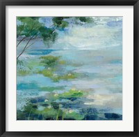 Framed Lily Pond I