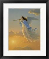 Framed Angel Of The Dawn