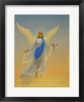 Framed Morning Angel