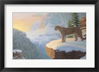 Winter Watch Framed Print