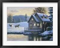 Framed Change Of Season (Mill)